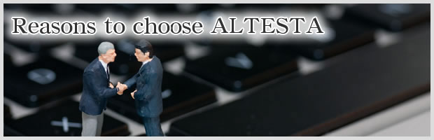 Reasons to choose ALTESTA